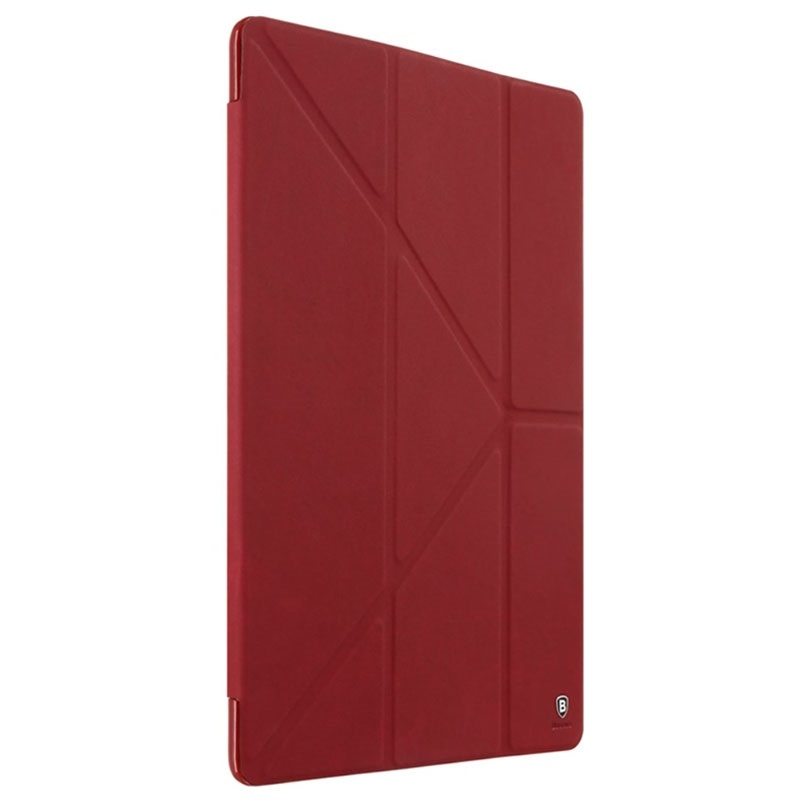 "Baseus Terse Leather Case For iPad Pro 9.7"" Wine Red - 1"