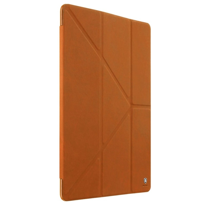 "Baseus Terse Leather Case For iPad Pro 9.7"" Brown - 1"