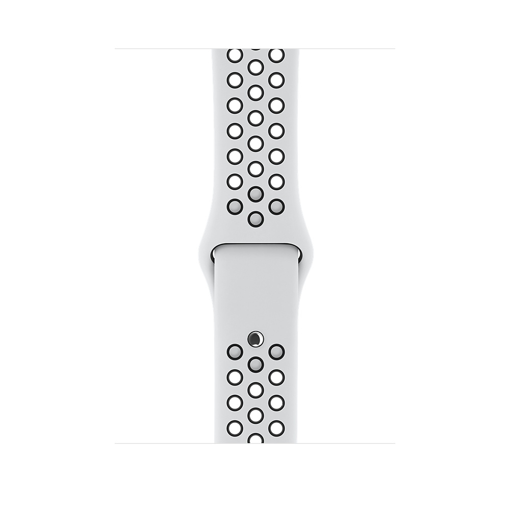 Apple Watch Nike+ Series 3 (GPS) 42mm Silver Aluminum Case with Pure Platinum/Black Nike Sport Band MQL32 - 2