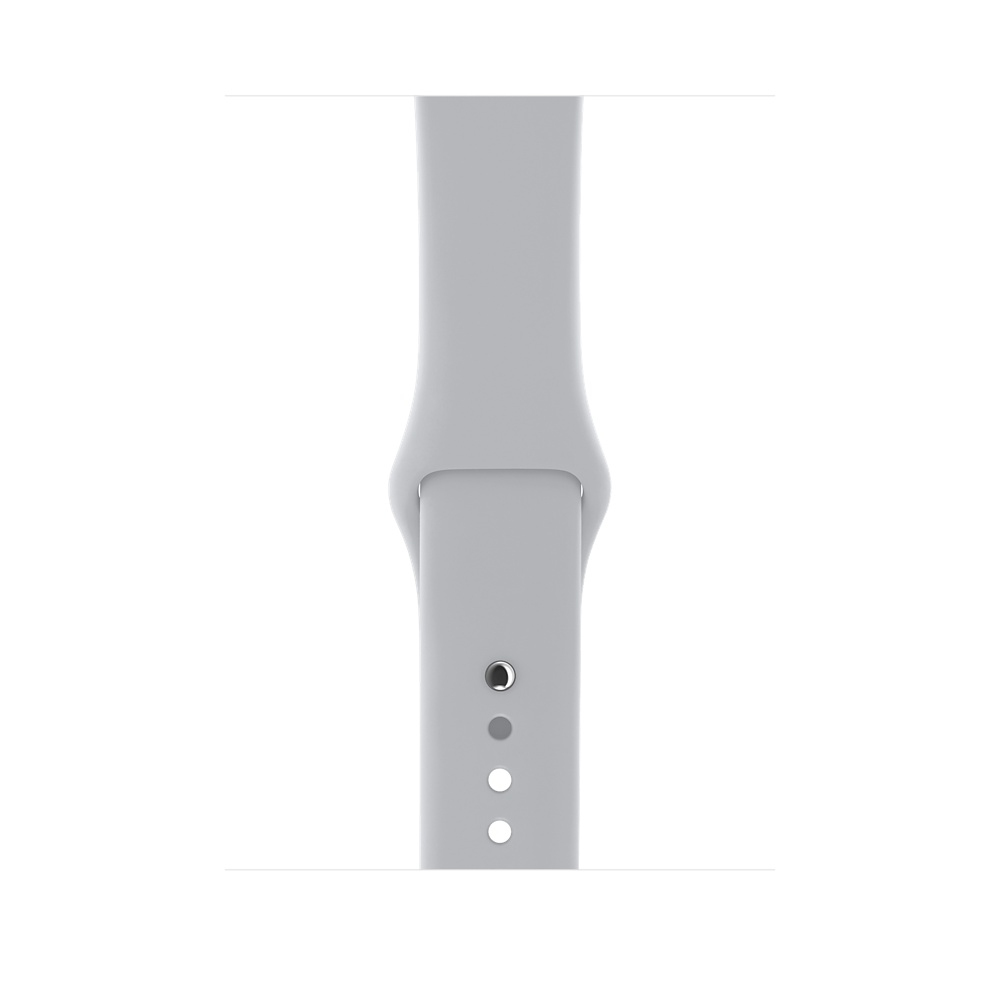 Apple Watch (GPS) 38mm Silver Aluminum Case with Fog Sport Band MQKU2 - 2
