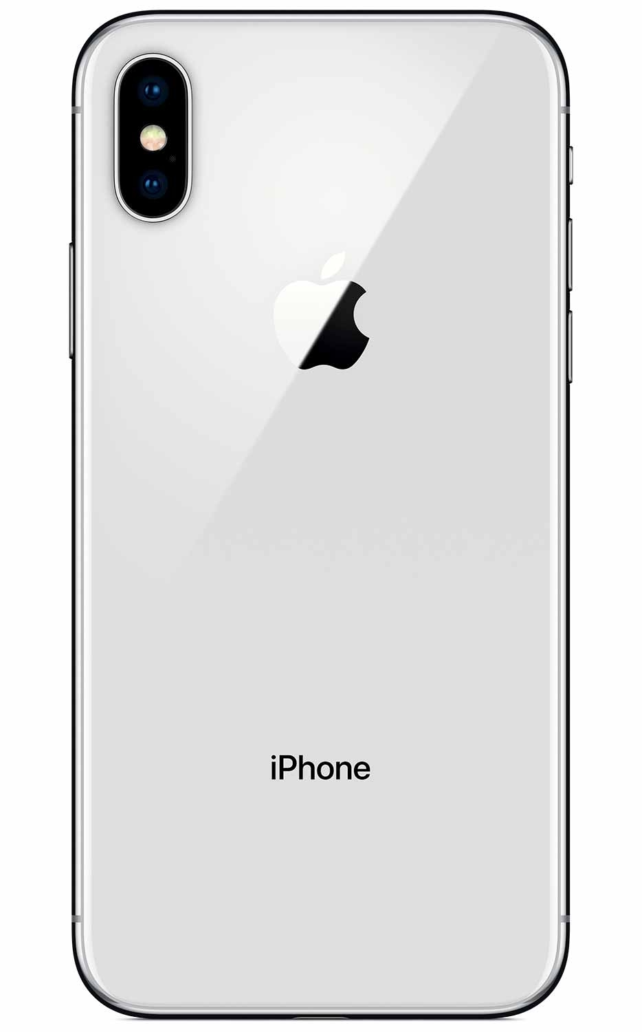 Apple iPhone X - 64GB Silver - 3