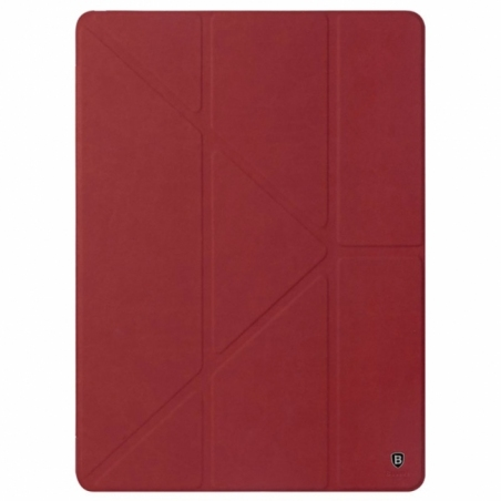 "Baseus Terse Series Leather Case For iPad Pro 12,9"" Wine Red"