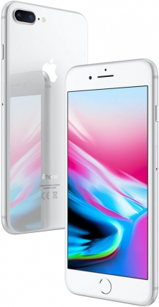 Apple iPhone 8 Plus - 64GB Silver