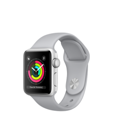 Apple Watch (GPS) 38mm Silver Aluminum Case with Fog Sport Band MQKU2