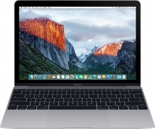 "Apple MacBook 12""-256Gb Space gray (MLH72) 2016"